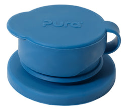 Pura - Big Mouth Silicone Sport Top in Steel Blue