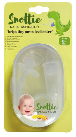 Snottie Nasal Aspirator with Free Compact Case
