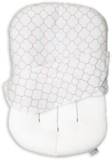 Snuggle Me Organic - patented Sensory Lounger for Baby with Counting Sheep cover