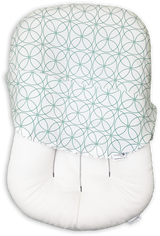 Snuggle Me Organic - patented Sensory Lounger for Baby with Infinity Cover