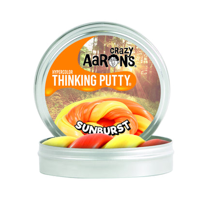 Crazy Aarons Thinking Putty - Heat Sensitive Hypercolor 4 inch tin