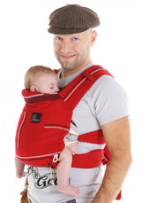 Chimparoo Mei Tai (MEH DAI) Baby Carrier in Tango