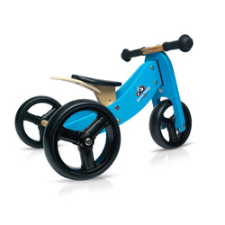 Kinderfeets Tiny Tot Convertible Bike in Blue