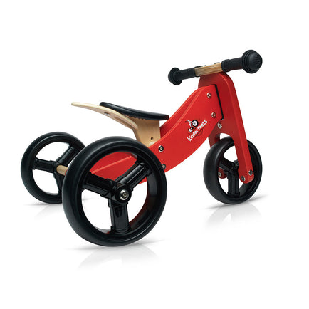 Kinderfeets Tiny Tot Convertible Bike in Red