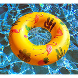 Tropical Print Flamingo Float by BigMouth Pool Floats & accessories