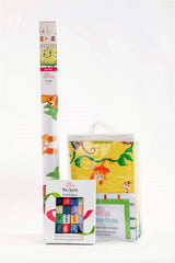 Wee & Charming - Baby Charm Blanket - Deluxe Package in Sunny Jungle