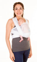 Chimparoo Wrap Air-O Baby Carrier in White