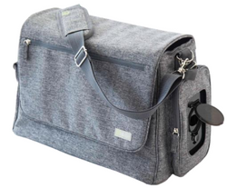 bblüv - Ültra Diaper Bag in Heather Grey