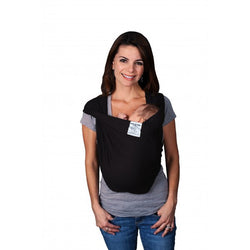 Baby K'tan - ORIGINAL - Solid Cotton Baby Carrier in Black