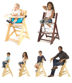 KEEKAROO Height Right Kids Chair (with 3-point harness)