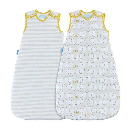 Grobag  - Baby Sleeping Bag Twin Pack in Elephant Love