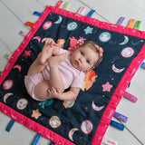 Wee & Charming - Baby Charm Blanket - Full Package in Bedtime Owls