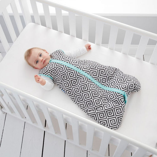 Grobag - Baby Sleeping Bag in Jet Diamonds (Travel)