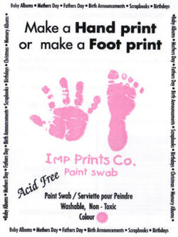 IMP Prints Paint Swabs in Pink