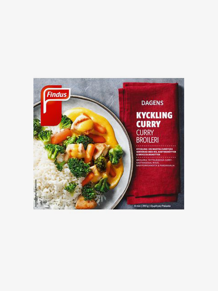 Findus Kyckling Curry