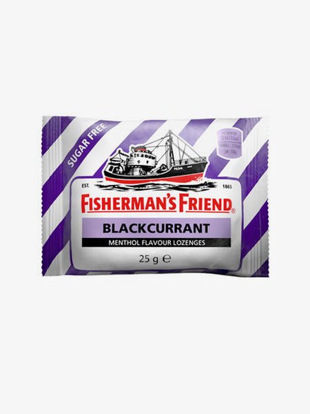 Fisherman's Blackcurrant Sugar Free Halstablette 25g