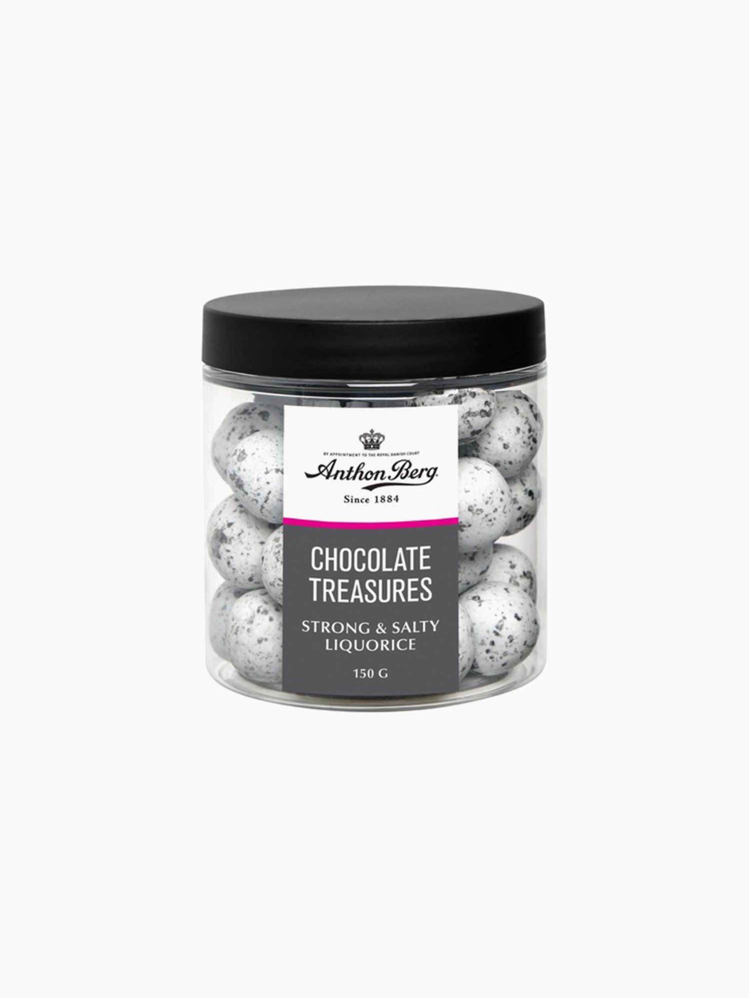 Anthon Berg Chocolate Treasures Strong & Salty liquorice 150g