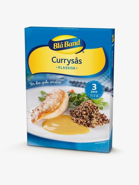 Currysås Pulver Blå Band 3p