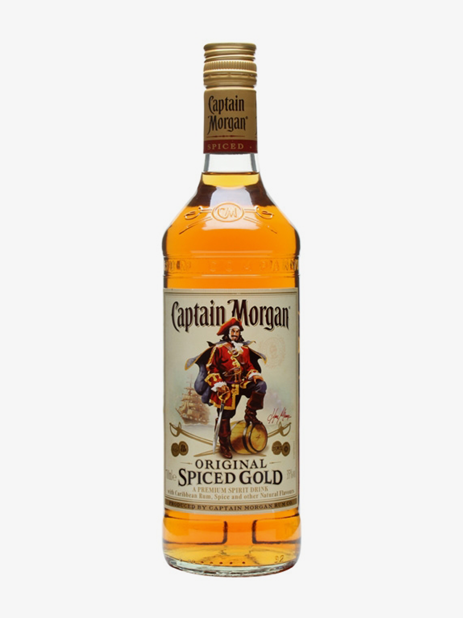 CAPTAIN MORGAN SPICED GOLD 70CL 35%