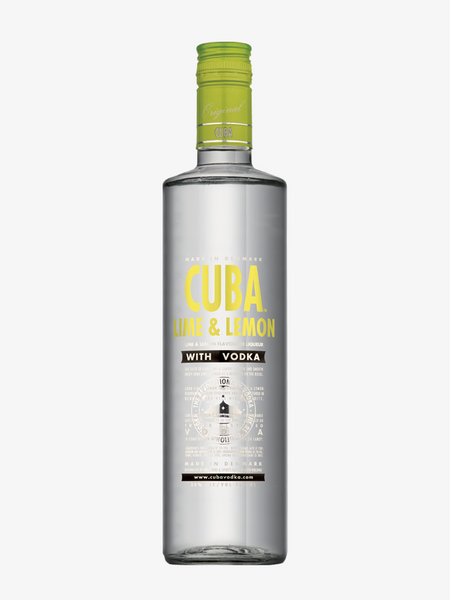 CUBA LIME & LEMON VODKA 30%