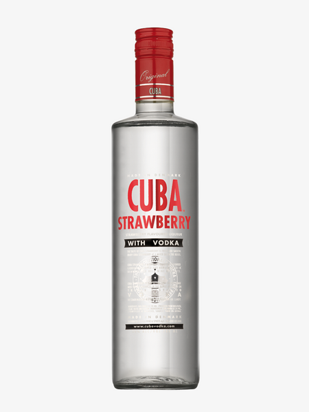 CUBA STRAWBERRY VODKA 30%