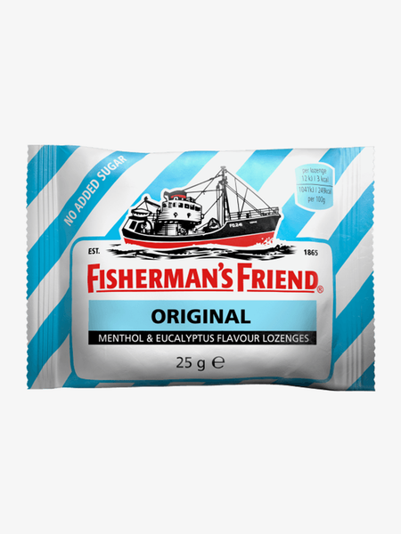 Fisherman's Original No Added Sugar Halstabletter 25g