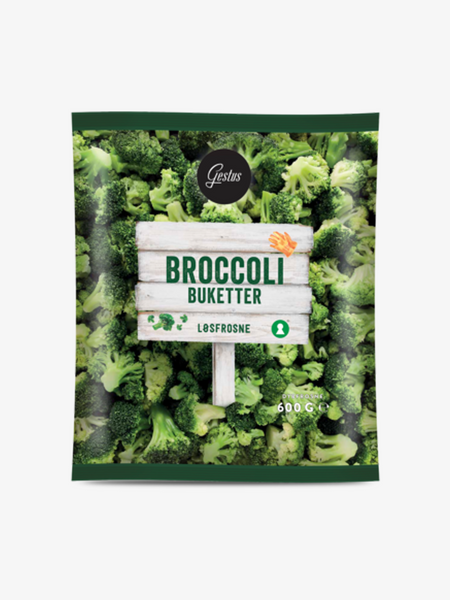 GESTUS BROCCOLIBUKETTER 600G