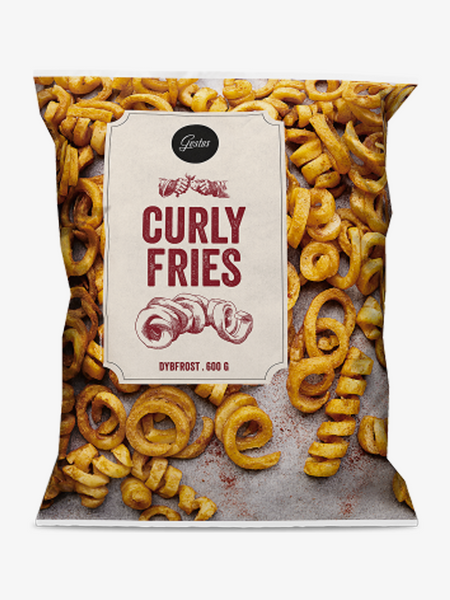 Gestus Curly Fries 600g