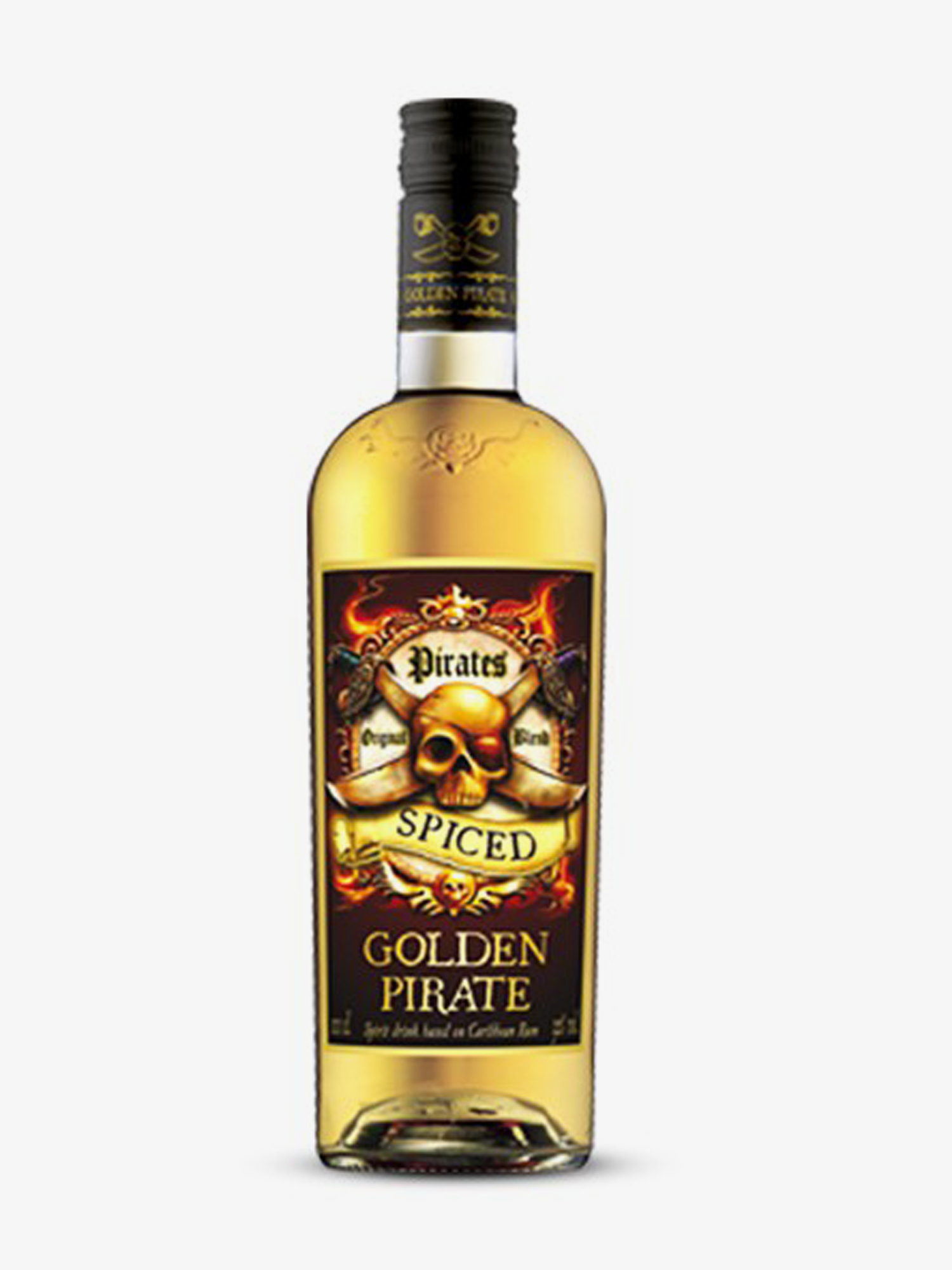 Golden Pirate Rum Spiced