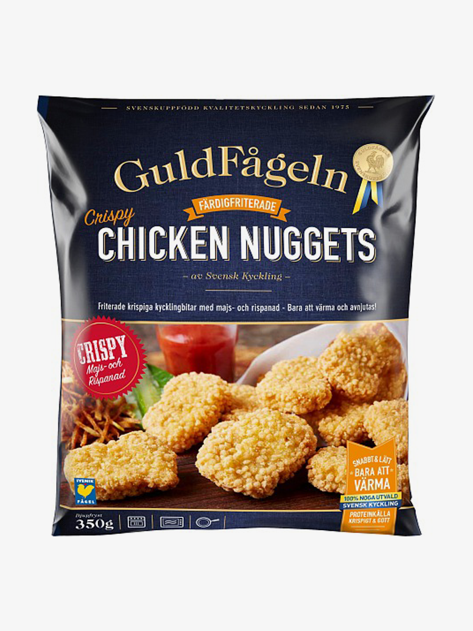 Guldfågeln Chicken Nuggets Crispy 350g