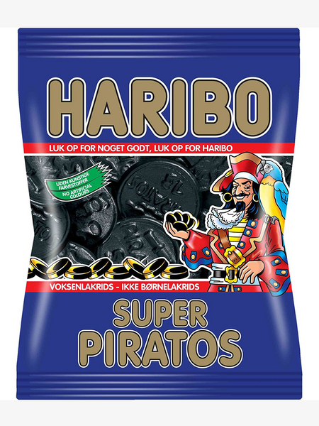 Haribo Super Piratos 400g