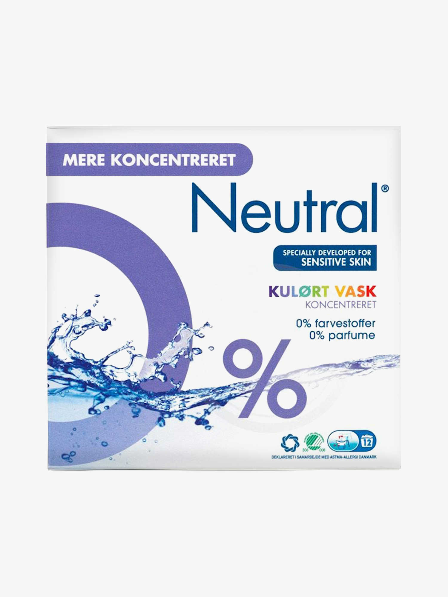 Neutral Vaskepulver Colour