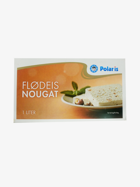 Polar Is Flødeis Nougat 1L
