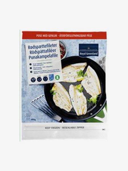 Rødspættefileter Naturel 250g