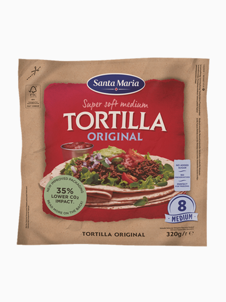 S.M. Tortilla Original 8 Medium