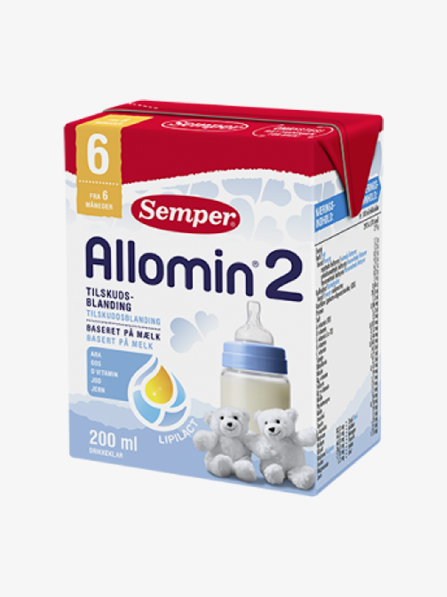 Semper Allomin 2 Drik Klar 200ml