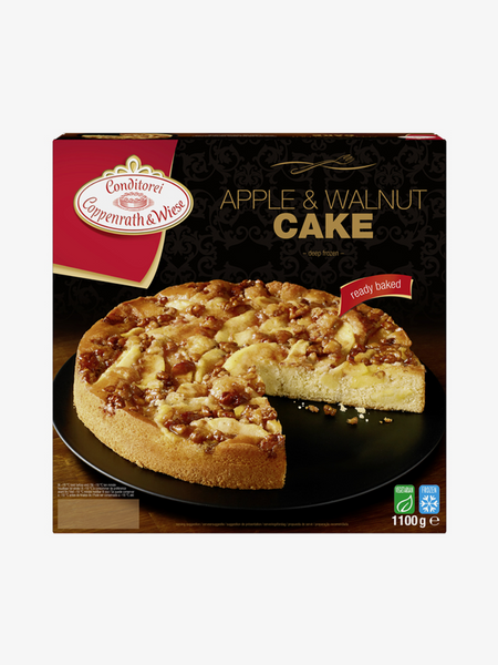 Conditorei coppenrath und wiese apple walnut cake