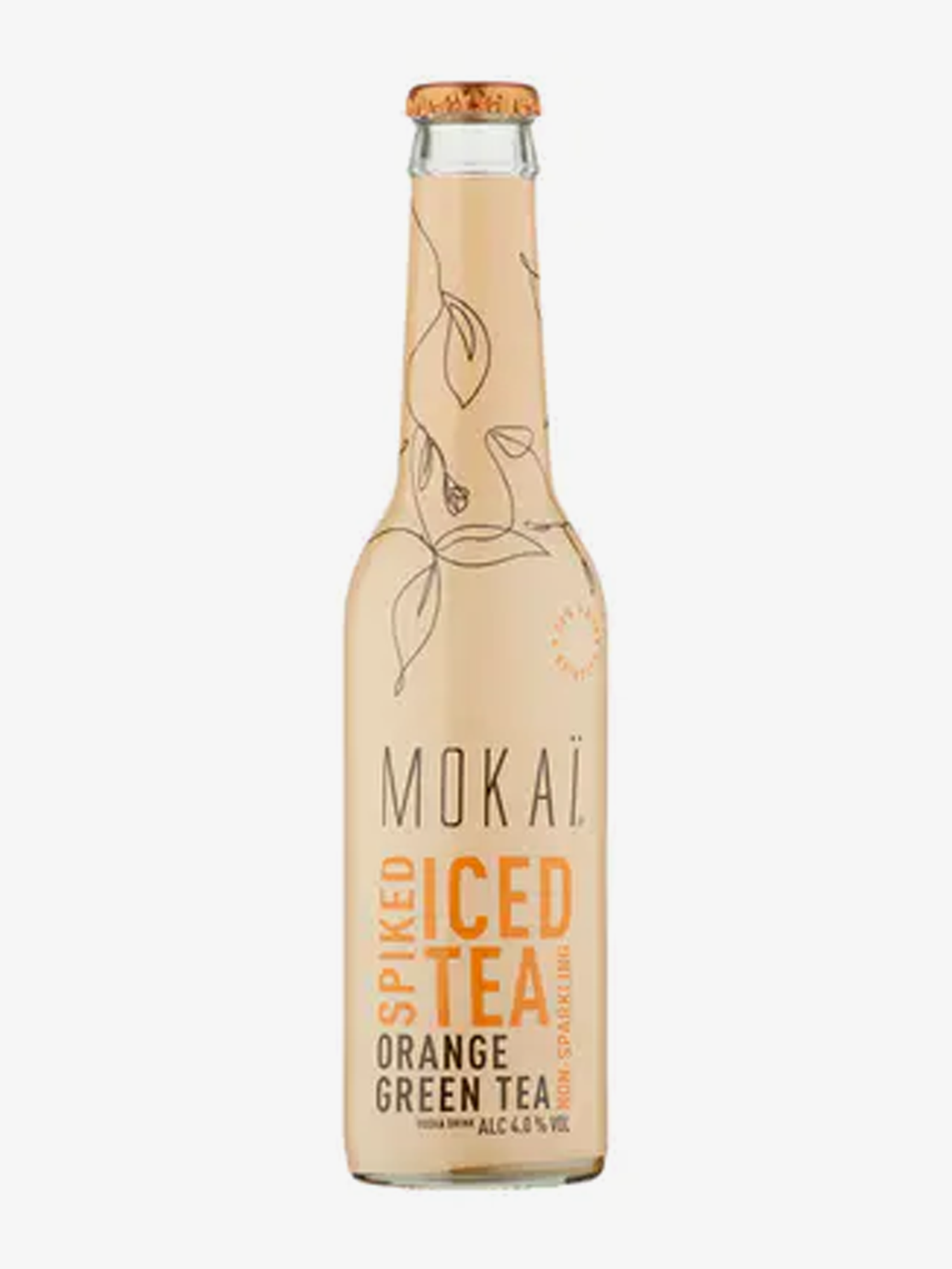 Mokaï Spiked Iced Tea Orange Green tea