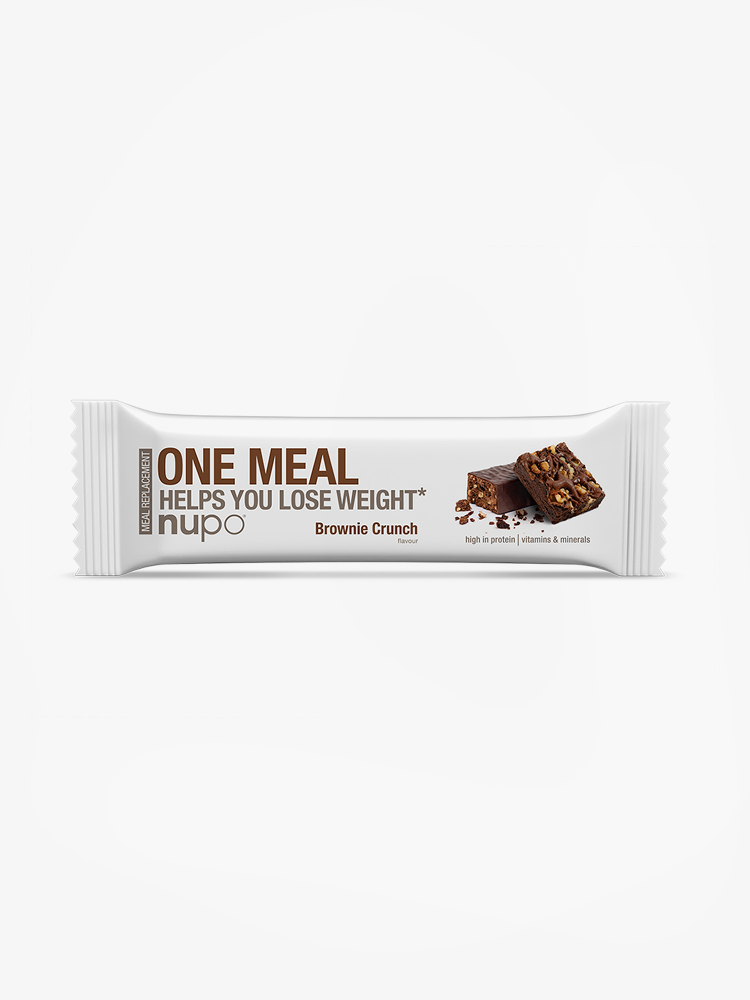 One Meal Brownie Crunch