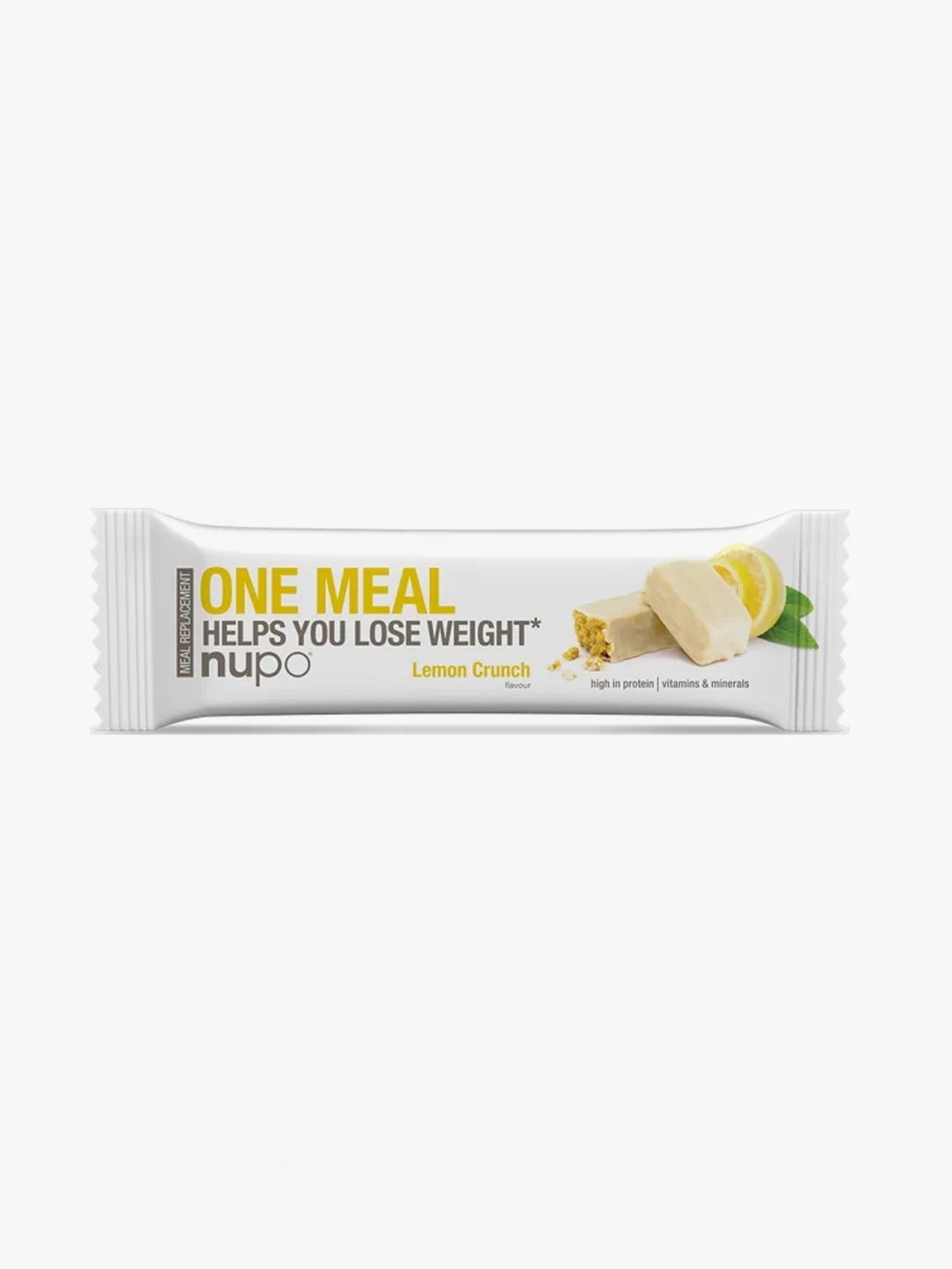 One Meal Lemon Crunch