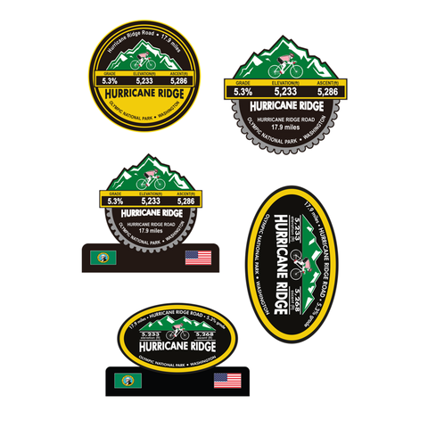 Hurricane Ridge - Olympic National Park, WA Stickers
