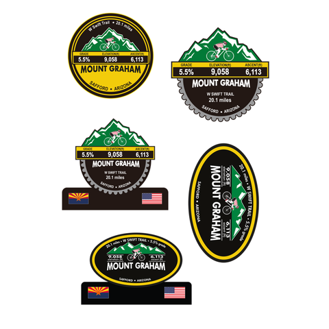 Mount Graham - Safford, AZ Stickers