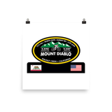 Mount Diablo North Gate - Walnut Creek, CA Photo paper poster