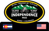 Independence Pass (Aspen, Co) Trophy
