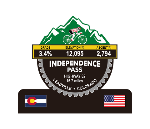 Independence Pass (Leadville, CO) Trophy