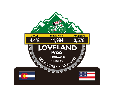 Loveland Pass (Georgetown, CO) Trophy