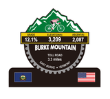 Burke Mountain - East Burke, VT Trophy