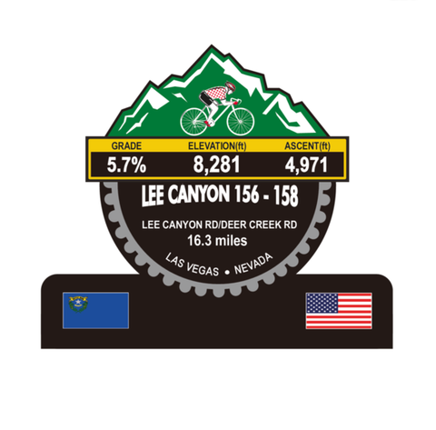 Lee Canyon 156-158 - Las Vegas, NV Trophy