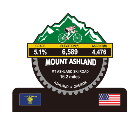 Mount Ashland - Ashland, OR Trophy