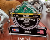 Triple Bypass 2018, CO - Trophies